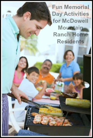 Residents of homes for sale in McDowell Mountain Ranch Arizona experience the best Memorial Day parties!