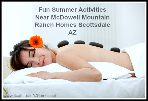 Discover relaxing amenities like no other at homes for sale in McDowell Mountain Ranch Scottsdale.