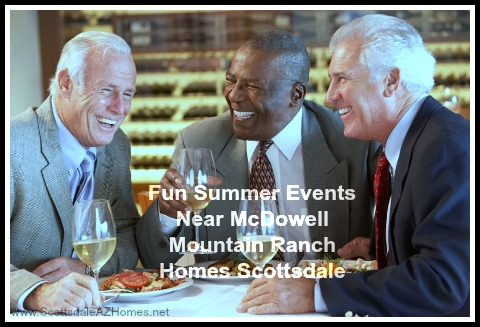 Have a good laugh with friends and family at homes for sale in McDowell Mountain Ranch AZ this summer!