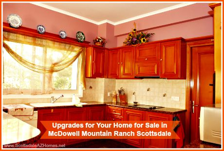 Here are some great ideas on inexpensive home upgrades for your homes for sale in McDowell Mountain Ranch Scottsdale!