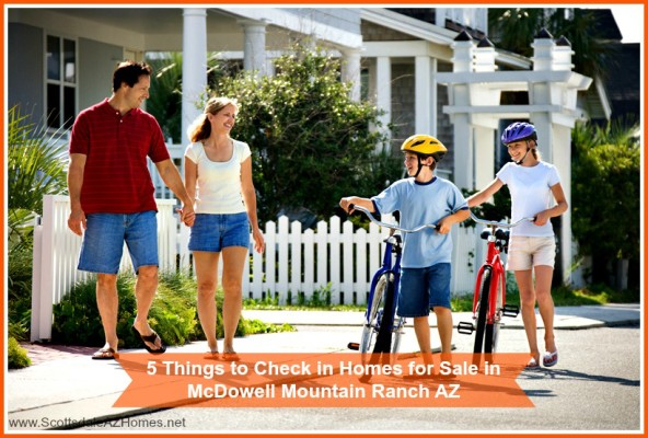Here are the 5 things to check when looking for a McDowell Mountain Ranch home for sale!